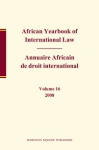 African Yearbook of International Law